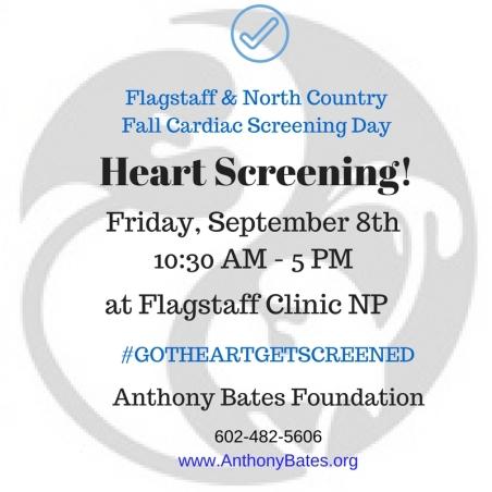 9-08-17 - Flagstaff Cardiac Screening Day
