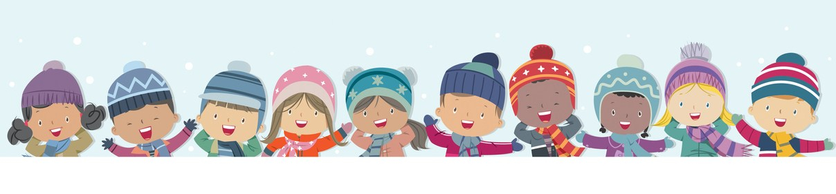 winter kids backgrounds